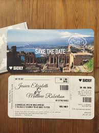 boarding pass save the date boarding pass save the date travel wedding wedding abroad