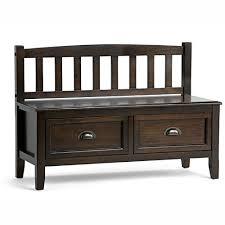rustic storage benches amazon com