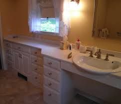 Handicap Bathroom Vanity A New Handicapped Accessible Bathroom For A Person Who Uses A