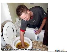 Meme Toilet - cleaning the toilet by omarkickass meme center