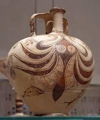 Minoan Octopus Vase Ipernity Stirrup Jar With Octopus In The Metropolitan Museum Of