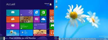 bureau windows 7 sur windows 8 1 module 2 le système d exploitation windows 7 mise en marche