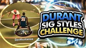 all kevin durant signature styles challenge hardest dribble