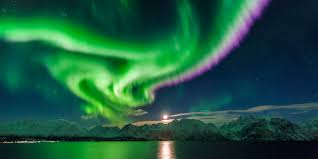 why northern lights happen serene northern lights in the oilfield video oilfield families