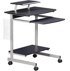 Adjustable Rolling Laptop Desk by Mobile And Compact Complete Computer Workstation Desk Office