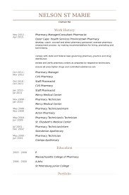 pharmacy manager resume best resume for you