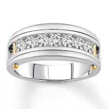 mens diamond engagement rings jared men s diamond engagement ring 7 8 ct tw 14k two tone gold
