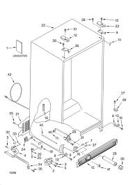kenmore 253 63712302 wiring schematic kenmore refrigerator model