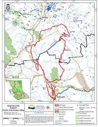 Wildfire Bc Status Map by Aug 3 No Aircraft On Elephant Hill Fire Today Due To Smoke 100