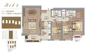 europe citadel apartments project in istanbul istanbul property plan 3 1b