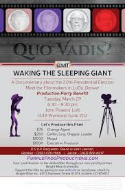 denver production march 29th production party benefit in denver waking the