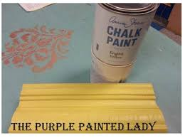 english yellow chalk paint quart