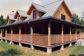 one story log cabin floor plans log cabin house plans with wrap around porches porch and basement