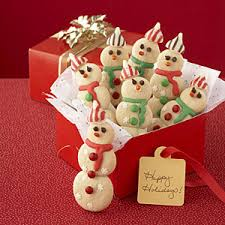 how to make snowman christmas cookies christmas gift ideas