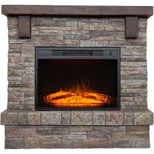 southern enterprises tanaya faux stone electric fireplace in white