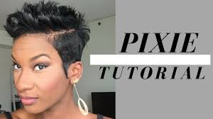 black hair styles in detroit michigan flips and spikes pixie tutorial 2017 short hair styles for black