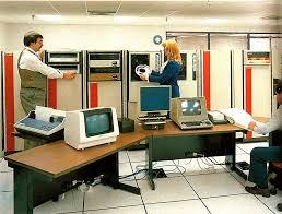 Business Computer Desk Retro Tech 1980s Business Computing Jetpack Jason
