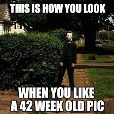 Michael Myers Memes - creeper alert meme by july4baby07 memedroid