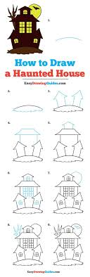 28 easy house drawing simple drawing of house how to draw a haunted house really easy drawing tutorial haunted