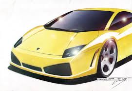 Lamborghini Gallardo 2004 - lamborghini gallardo 2004 supercar sketches