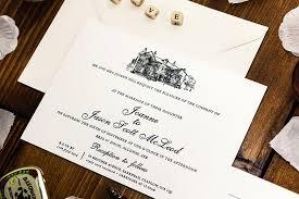 wedding invitations glasgow affordable luxury letterpress wedding invitations by bossa