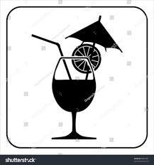 drink vector silhouette drink vector stock vector 60870391 shutterstock