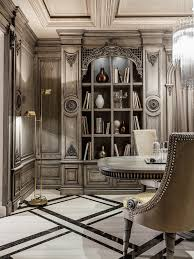 Posh Home Interior Neoclassical And Art Deco Features In Two Luxurious Interiors