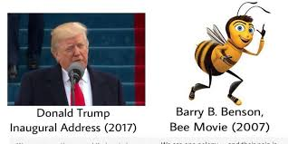 Bee Movie Meme - donald trump plagiarism memes take over twitter