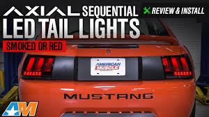 2004 mustang sequential lights 1999 2004 mustang axial sequential led lights review