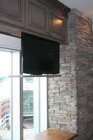 under cabinet lighting placement appliance under the cabinet tv for the kitchen best tv en audio