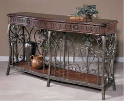Hekman Sofa Table Loire Valley Metal Grill Chateau Console Table Hekman 722100041
