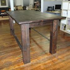 wood counter height table bar height table solid wood table designs