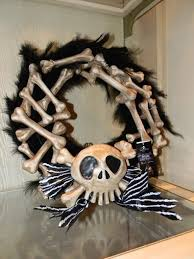 disney event nightmare before christmas bone holiday door wreath