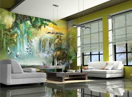 living room murals flower wall murals surripui net full wall mural in the living room
