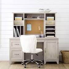 Teen Desk And Hutch Beadboard Space Saving Desk Hutch Pottery Barn Pinterest