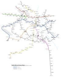 Metro Route Map by Two More Delhi Metro Maps Chasing The Metro