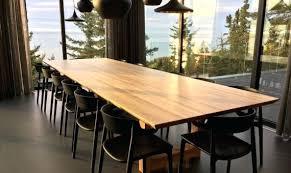 grande table cuisine table cuisine bois brut cuisine table cuisine bois massif eclectique