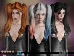 hair color to download for sims 3 leah lillith s leahlillith harley hair