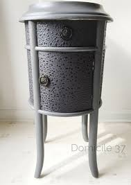 diy monochromatic side table makeover domicile 37