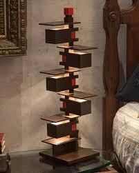 frank lloyd wright taliesin 3 table lamp walnut architectgiftsplus