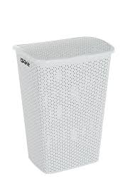 grey laundry hamper curver find offers online and compare prices at wunderstore