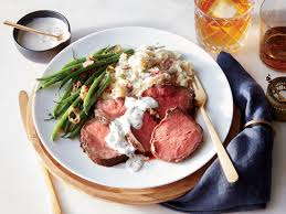 beef tenderloin menu dinner party smoked beef tenderloin recipe cooking light