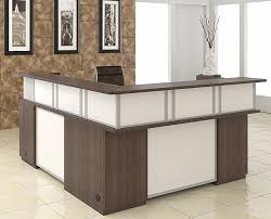 L Shaped Reception Desks 704 60r Causeway Modular Collection L Shaped Reception Desk 60