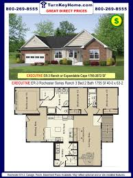 48 5 Bedroom 3 Bath Modular Home Plans Cavco Homes Double Wides