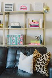 diy gold ikea book shelves glitter inc glitter inc