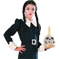Wednesday Addams Halloween Costume Addams Family Costumes U0026 Accessories Halloween Costumes 4u