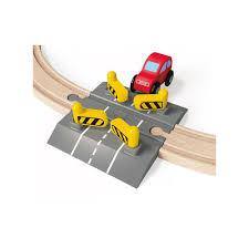 spielküche hape hape railroad crossing with automatically gate