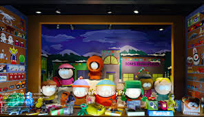 south park holiday windows barneys new york