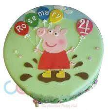 peppa pig cakes odc165 peppa pig cake cake square chennai