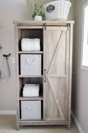 Moving Sliders Walmart by The Little Cottage Bathroom Makeover Door Storage Farmhouse And